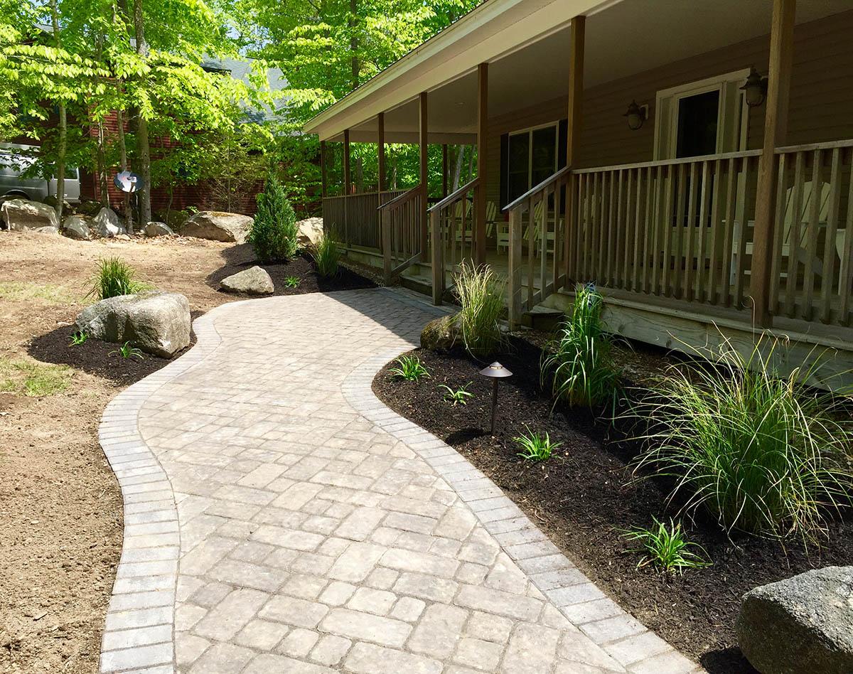 stone walkways landscaping stone walls stone patios